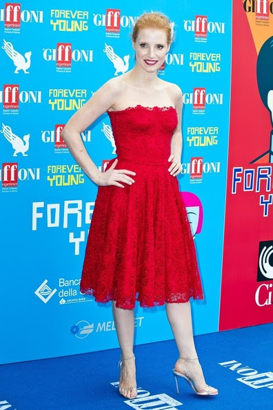 Jessica Chastain - Celebs at the Giffoni Film Festival