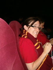 Jo Minor knitting at HP6 by sonnetstitches