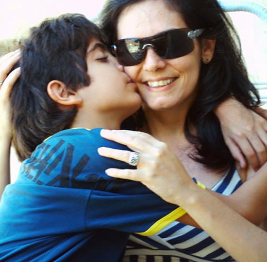 امومه الام الام وطفلها بدون
