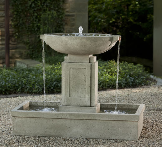Austin Outdoor Water Fountain - outdoor fountains - portland - by ...
