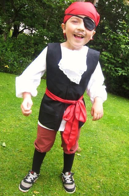 bemused pirate