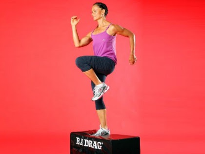 4. Body-weight strengthening: step-ups
