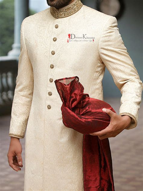 New Latest Sherwani Designs for Groom 2017 Collection