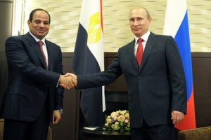 Ρωσία: Στην Κριμαία ο Αιγύπτιος Σίσι μαζί με τον Βλαντιμίρ Πούτιν!