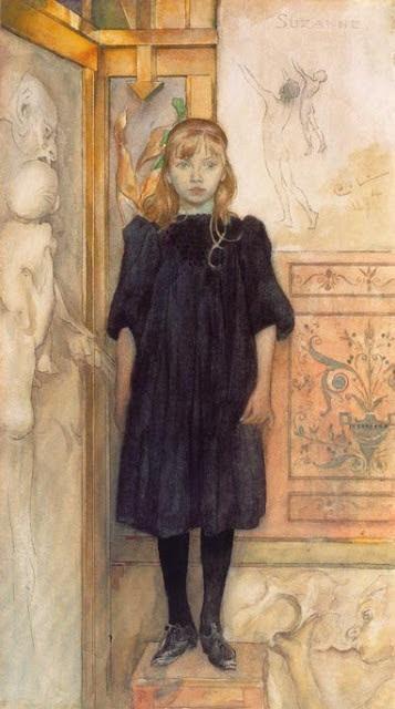 Suzanne, Carl Larsson