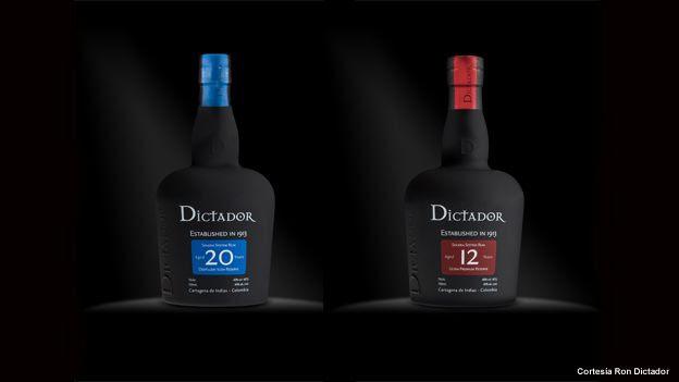 Botellas de ron Dictador