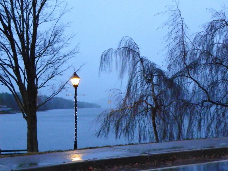 November Rain On Lake Massawippi