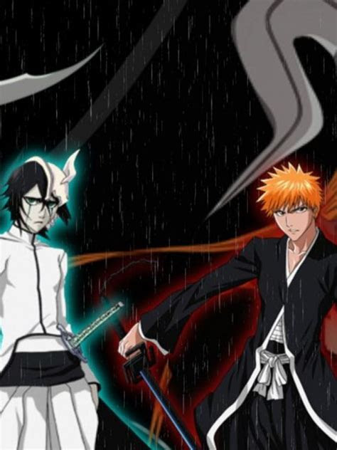 ulquiorra  ichigo bleach anime wallpaper hd