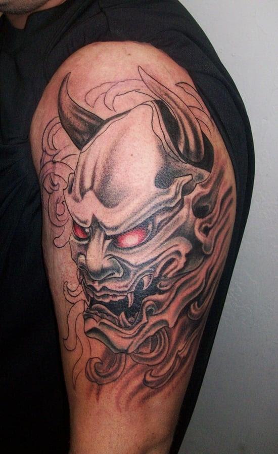 Tato Di Kaki Yakuza Tattoo Design