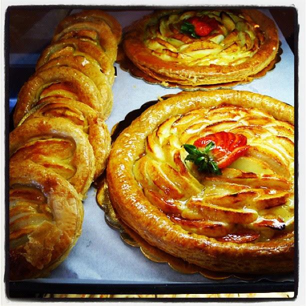 Porto's Bakery apple galette