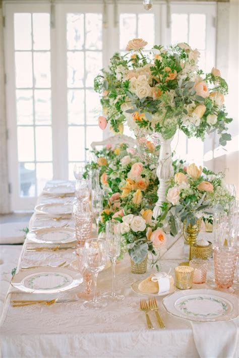 40 Delicate Peach And Cream Wedding Ideas   Weddingomania