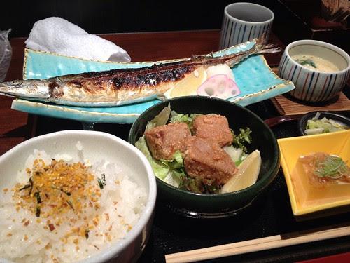 秋刀魚美味しい