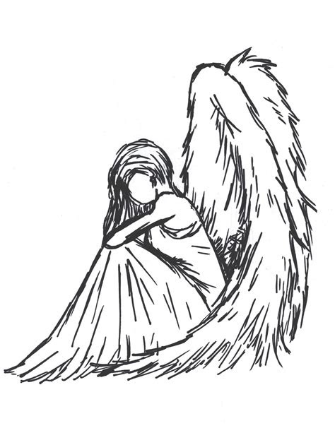 sad angel  sioban mckey  deviantart