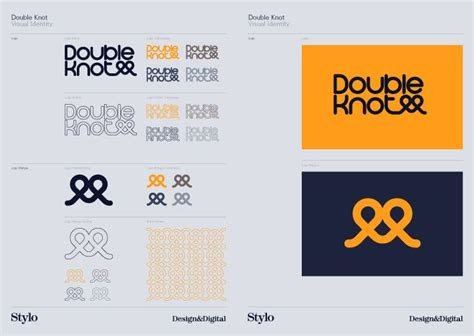 double knot style guide style guide pinterest logo