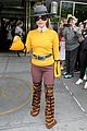 lady gaga yellow bright outfit nyc 01