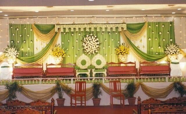 reception mandap decoration