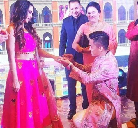 PHOTOS: Sunil Chhetri get married to long time girlfriend