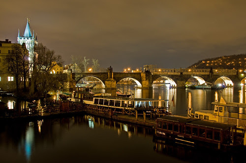Charles Bridge, Prague 02/12/2008 by Gary S. Crutchley