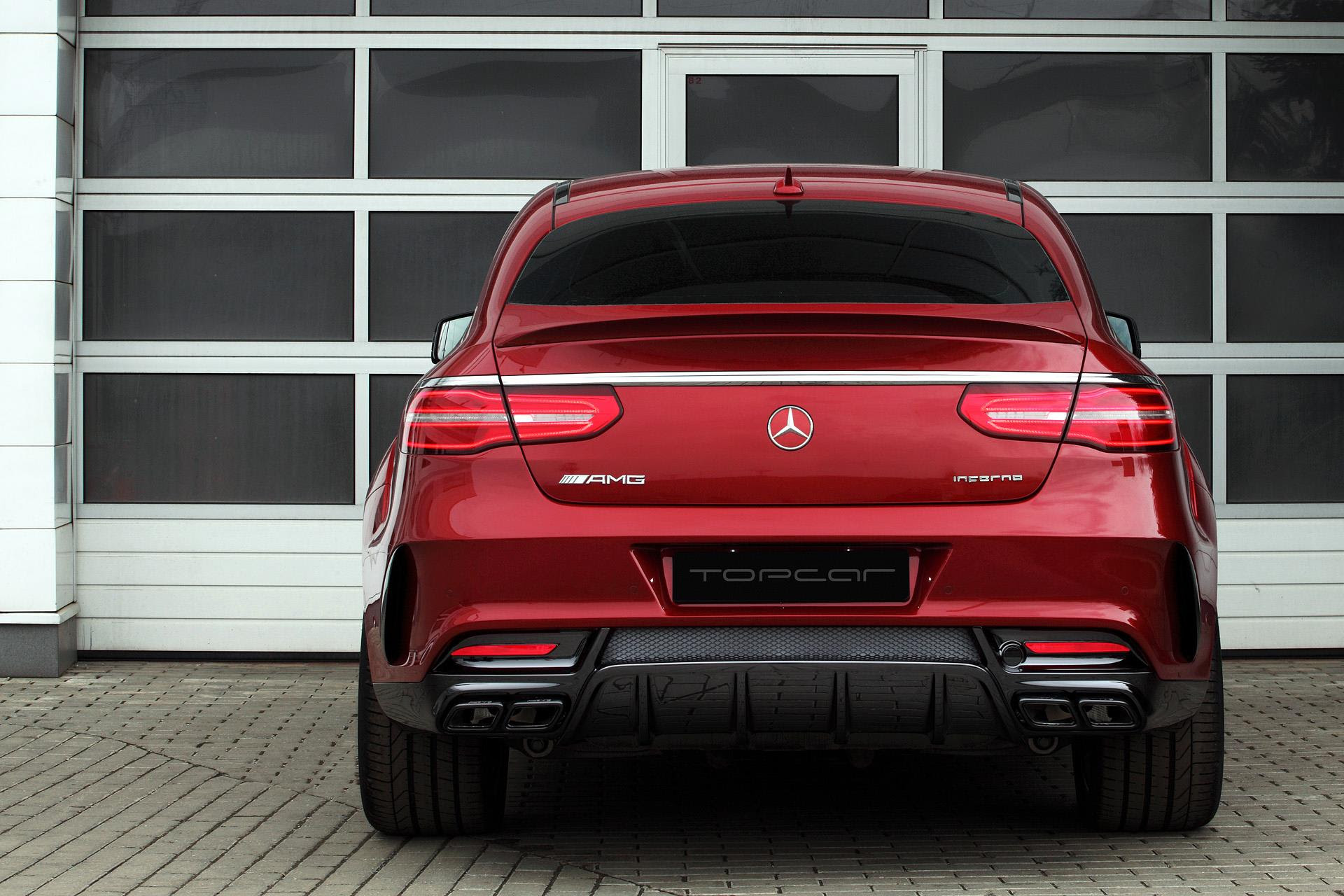 Mercedes GLE 450 AMG Coupe Gets Inferno Tuning from Topcar ...