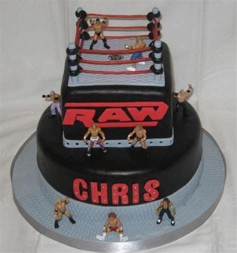 WWE Wrestling Ring Birthday Cake   SMY Grooms Cake  need
