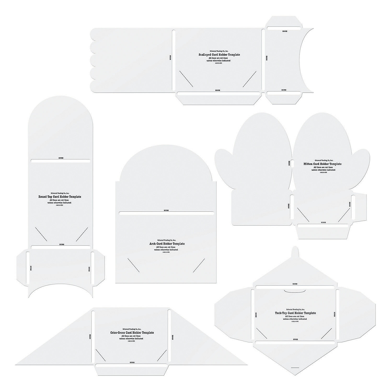 Gift card holder template hatchurbanskript negle Images