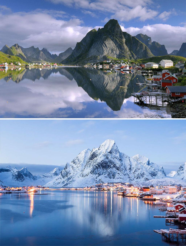 15 fotos de antes e depois da transformações invernais 14