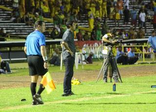 Flamengo-PI x Sampaio Corrêa (Foto: Josiel Martins)