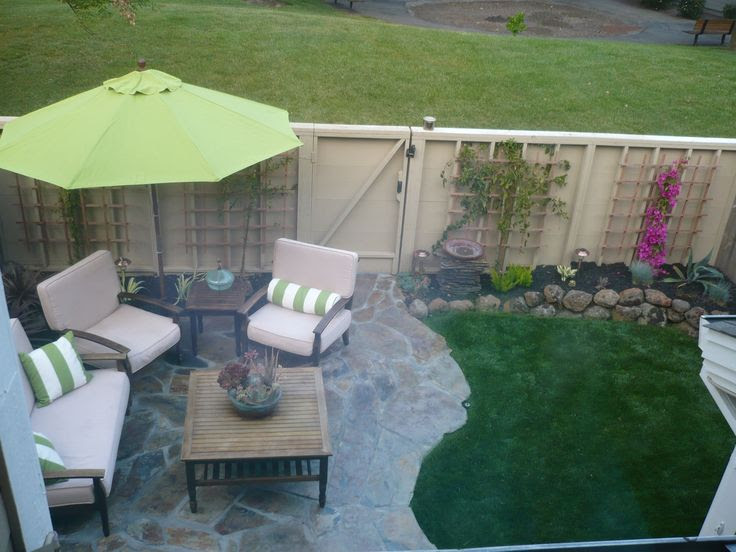 Ideas for small backyards townhouse