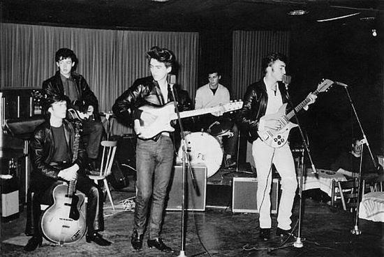 Beatles LIVE-hamburg