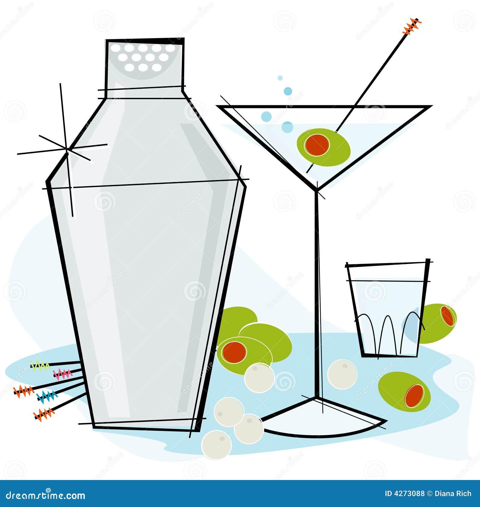 retro style martini 4273088