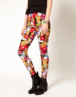 Image 4 of Lazy Oaf Exclusive Cute Leggings