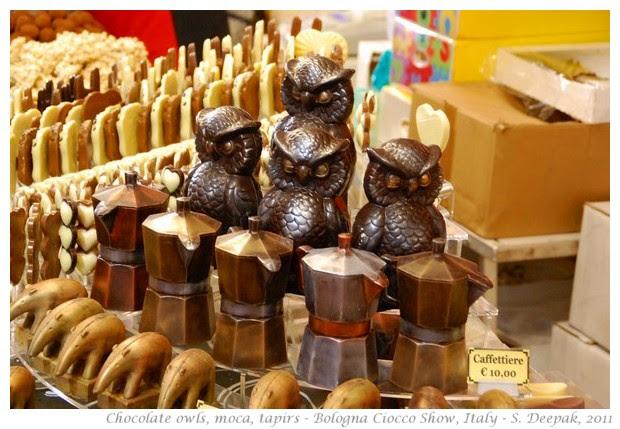 Bologna chocolate fair - S. Deepak, 2011