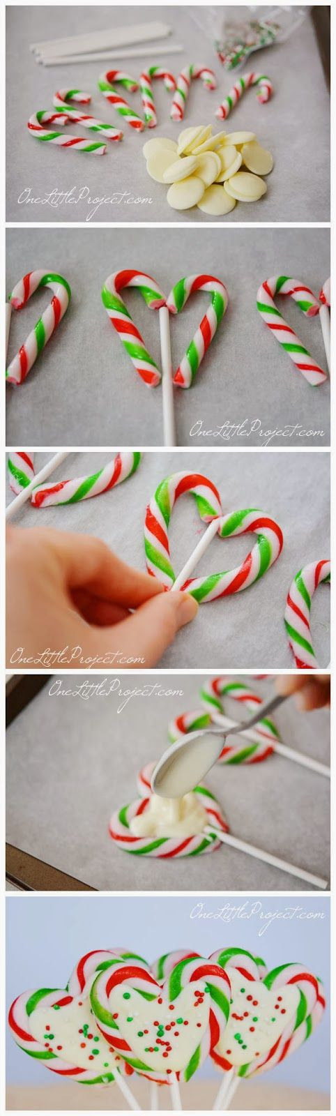 Candy Cane Hearts!