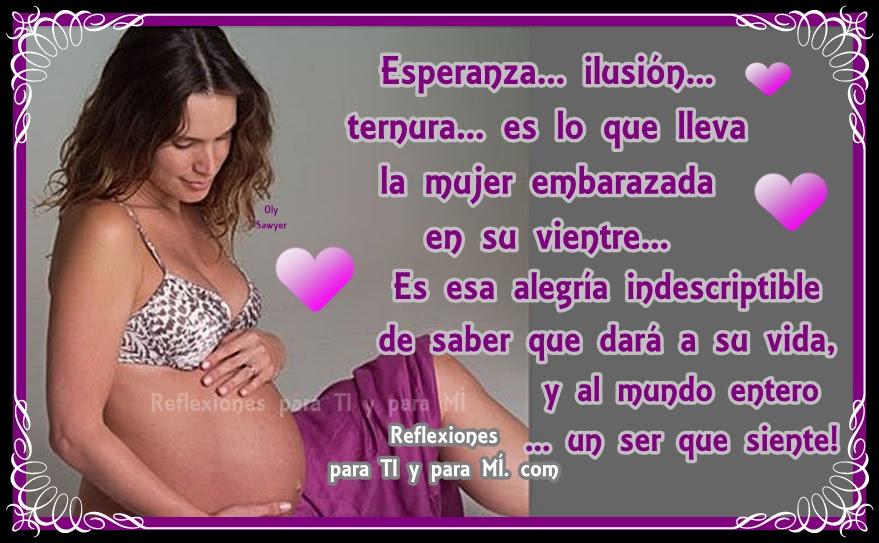 Imagenes Con Mensajes Para Una Mujer Embarazada Descargar Imagenes
