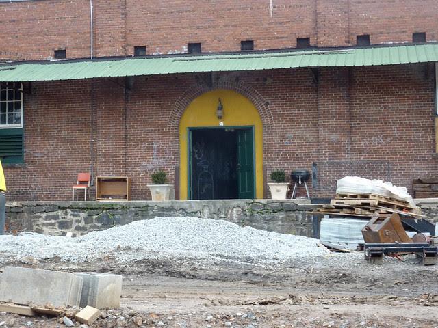P1030896-2012-01-12--Virginia-Cotton-Docks-Beltline-Doors-Green-Mustard-Arch