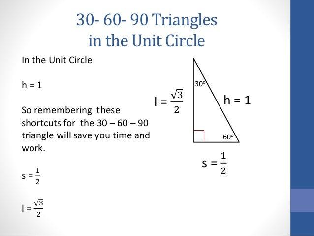 30 60-90 triangles