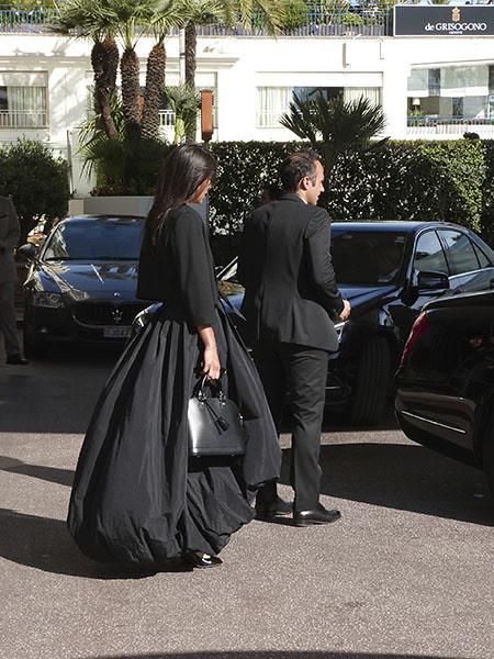 belle robe noire