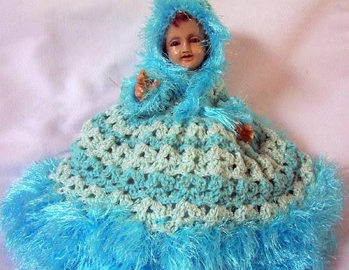 Entre Hilos y Puntadas: Vestido crochet Niño Dios