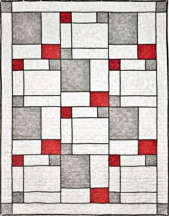 Modern Quilts Patterns | Modern Pop Two Quilt Pattern SLM-201