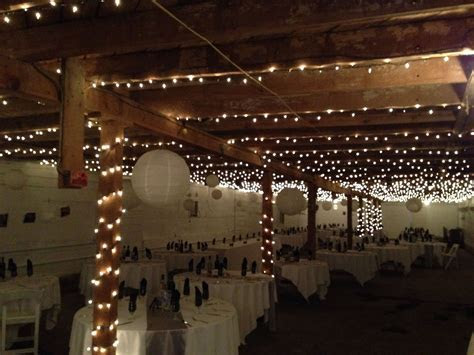 Wedding decor for a barn with a low ceiling   Wedding
