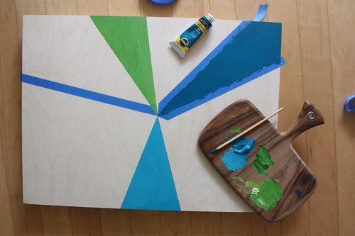 Diy Canvas Wall Art | Shelterness