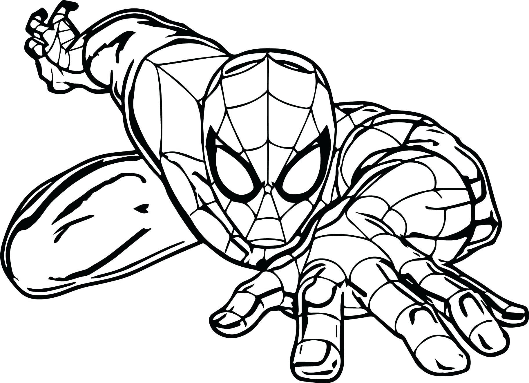 Spider Man Cartoon Drawing at GetDrawings | Free download