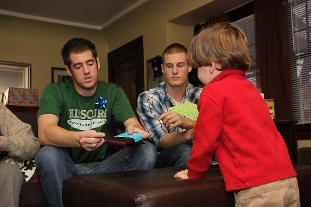 James, Drew, Oliver