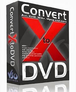 VSO ConvertXtoDVD رایت ویدیو روی دی وی دی ConvertXtoDVD 5.1.0.2