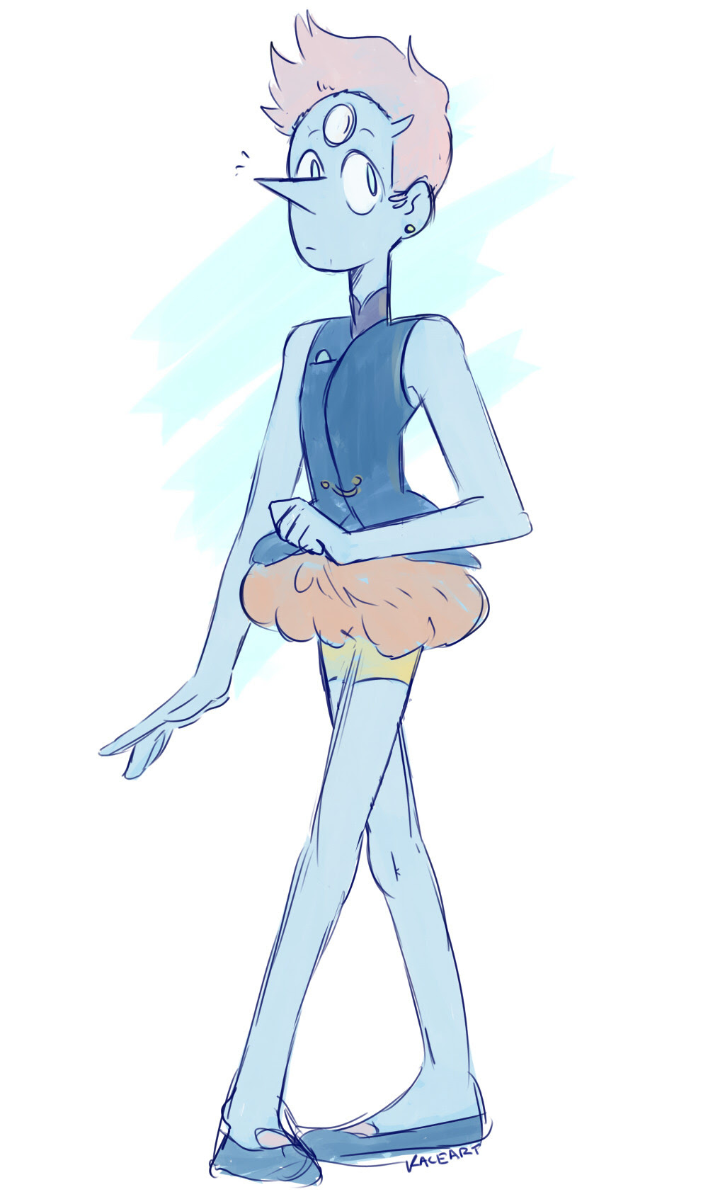 had a tiny bit of time to draw something, so here's a pilot pearl :P