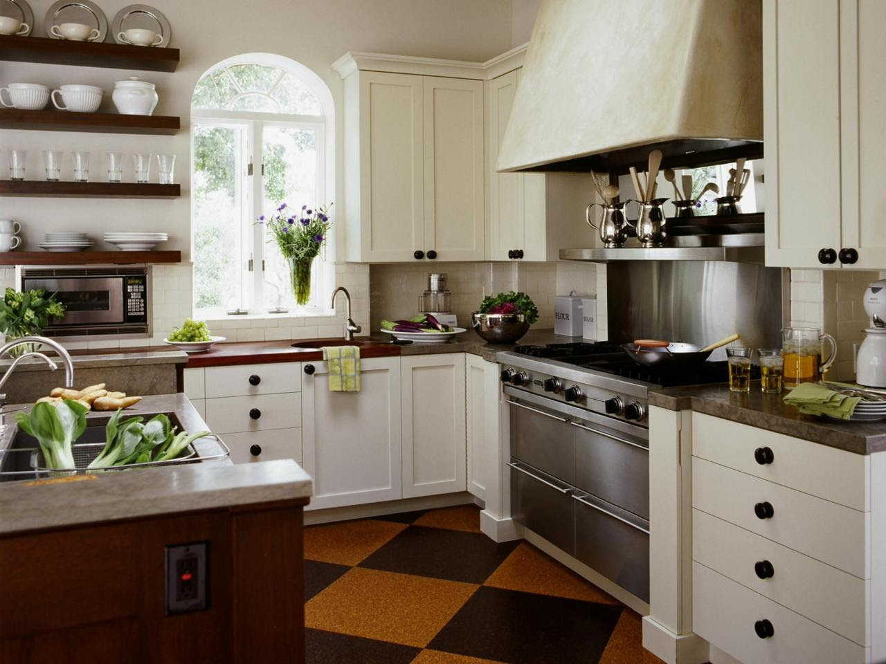 Our 50 Favorite White Kitchens  Kitchen Ideas  Design with Cabinets, Islands, Backsplashes  HGTV