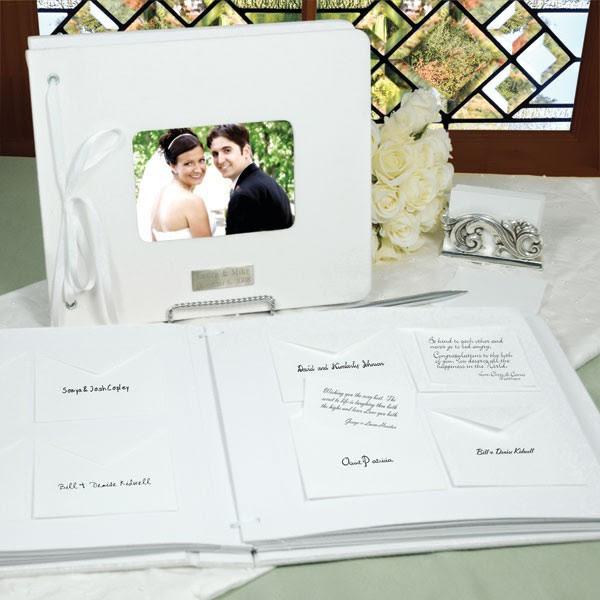 Notecard Wedding Guest Book