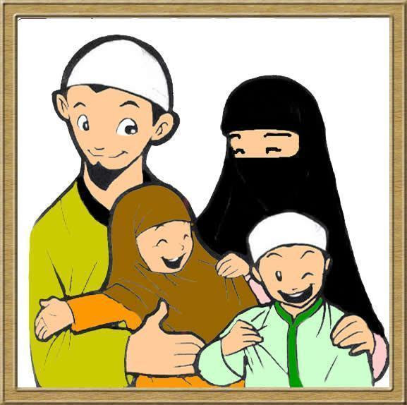 440 Koleksi Gambar Kartun Ayah Anak Ibu HD Terbaik