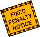 a Fixed Penalty Notice