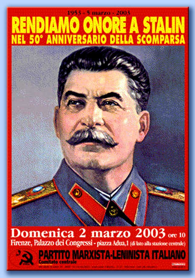 manifesto a stalin